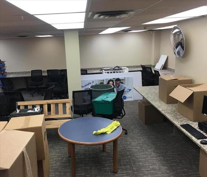 Water Damage at Local Library After